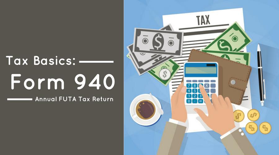 Form 940 Annual Futa Tax Return Workful Blog