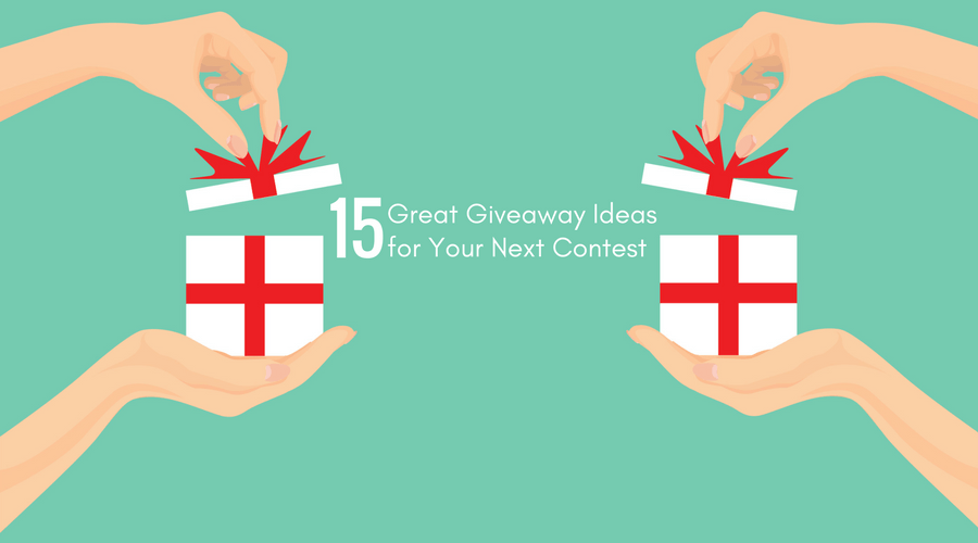 Giveaway Ideas for Your Next Contest