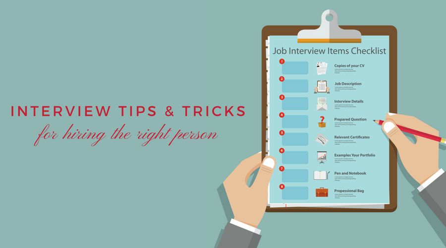 Interview Tips & Tricks