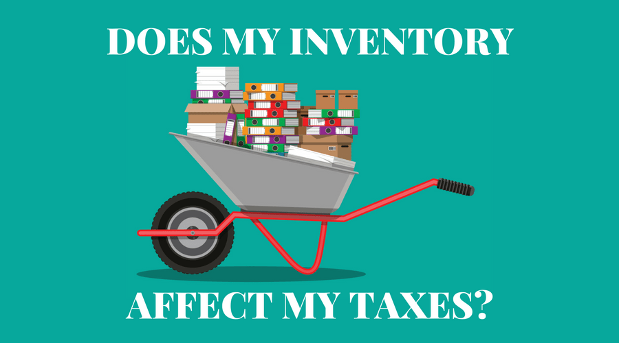 Inventory Affects Taxes