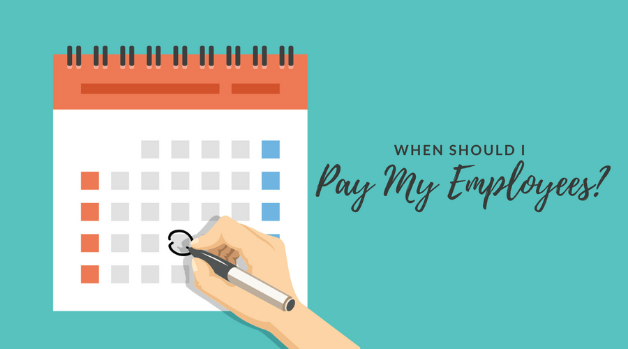 Choosing a Pay Schedule