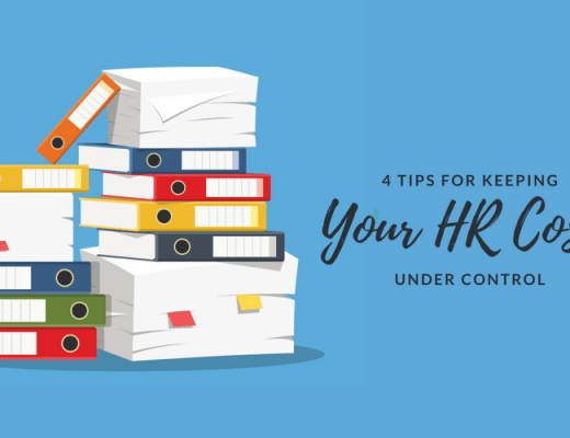 4 Tips for Keeping Your HR Costs Under Control