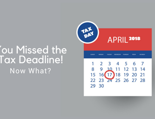 If you missed the tax deadline - don't panic