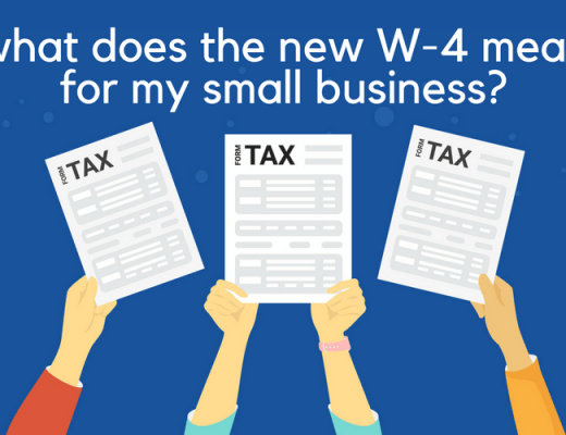 Your Employees can use the withholding calculator to fill out their new W-4