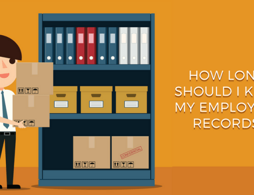 How long should I keep employment records