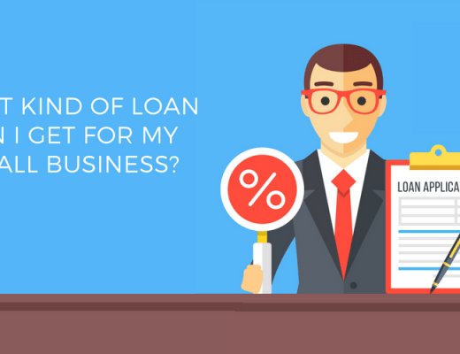 What kind of loan can I get for my small business?