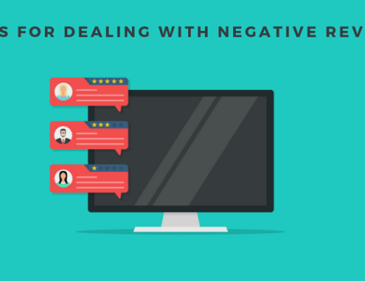 Tips for Dealing with Negative Reviews