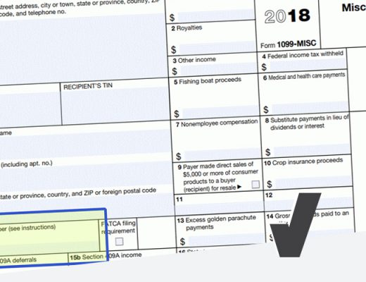 What is an Account Number on Form 1099-MISC?